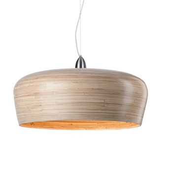 Suspension hanoi bois naturel o60cm it s about romi normal