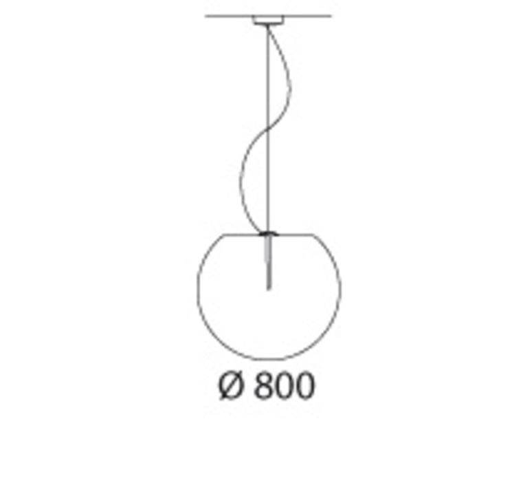 Happy apple alberto basaglia natalia rota nodari suspension pendant light  pedrali 331s  design signed nedgis 73575 product