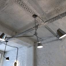 Hartau triple alexandre joncas gildas le bars suspension pendant light  d armes hatrwhox1  design signed nedgis 73829 thumb