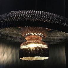 Hatter 2tier sara efia reddin suspension pendant light  golden editions hatter 2tier midnight  design signed nedgis 71117 thumb