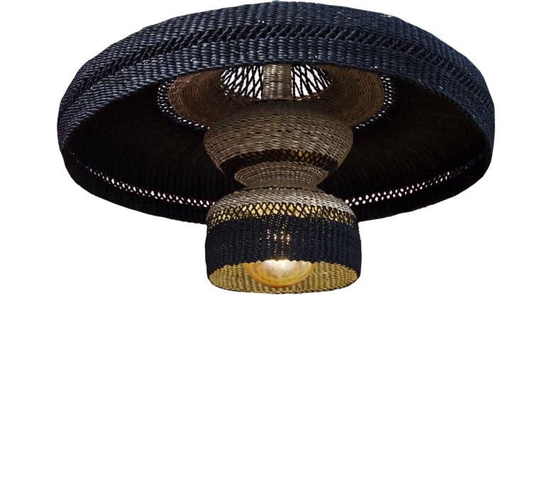 Hatter 2tier sara efia reddin suspension pendant light  golden editions hatter 2tier midnight  design signed nedgis 71118 product