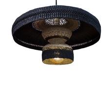 Hatter 2tier sara efia reddin suspension pendant light  golden editions hatter 2tier midnight  design signed nedgis 71118 thumb