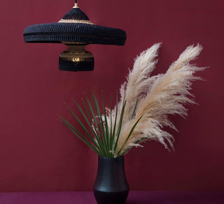 Hatter 2tier sara efia reddin suspension pendant light  golden editions hatter 2tier midnight  design signed nedgis 71120 product