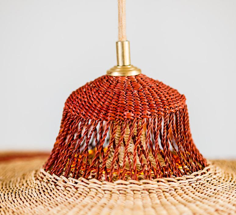 Hatter 2tier sara efia reddin suspension pendant light  golden editions hatter 2tier ginger  design signed nedgis 71124 product