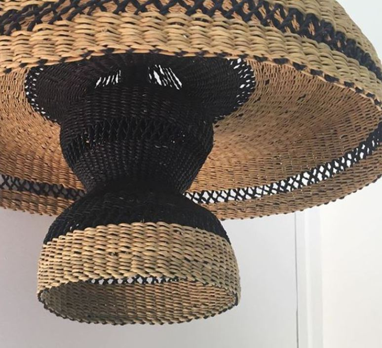 Hatter 2tier sara efia reddin suspension pendant light  golden editions hatter 2tier natural  design signed nedgis 71125 product