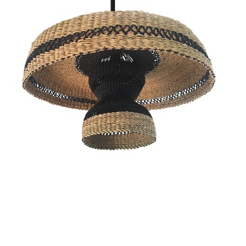 Suspension hatter 2tier naturel o44cm h24cm golden editions normal