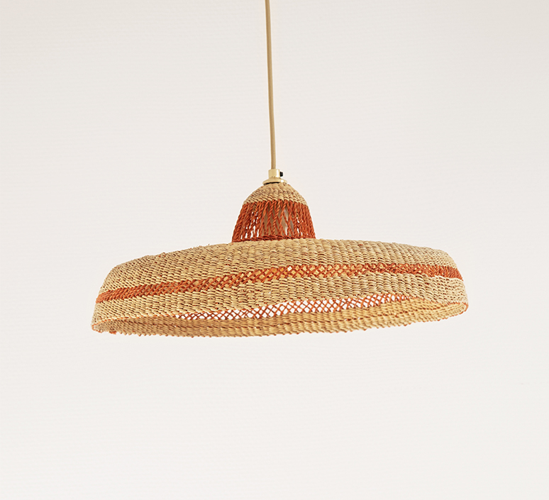 Hatter sara efia reddin suspension pendant light  golden editions hatter44cm ginger  design signed nedgis 103970 product