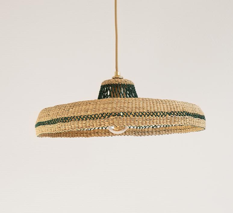 Hatter sara efia reddin suspension pendant light  golden editions hatter natural herb  design signed nedgis 103902 product
