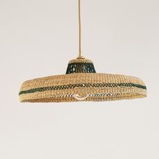 Hatter sara efia reddin suspension pendant light  golden editions hatter natural herb  design signed nedgis 103902 thumb