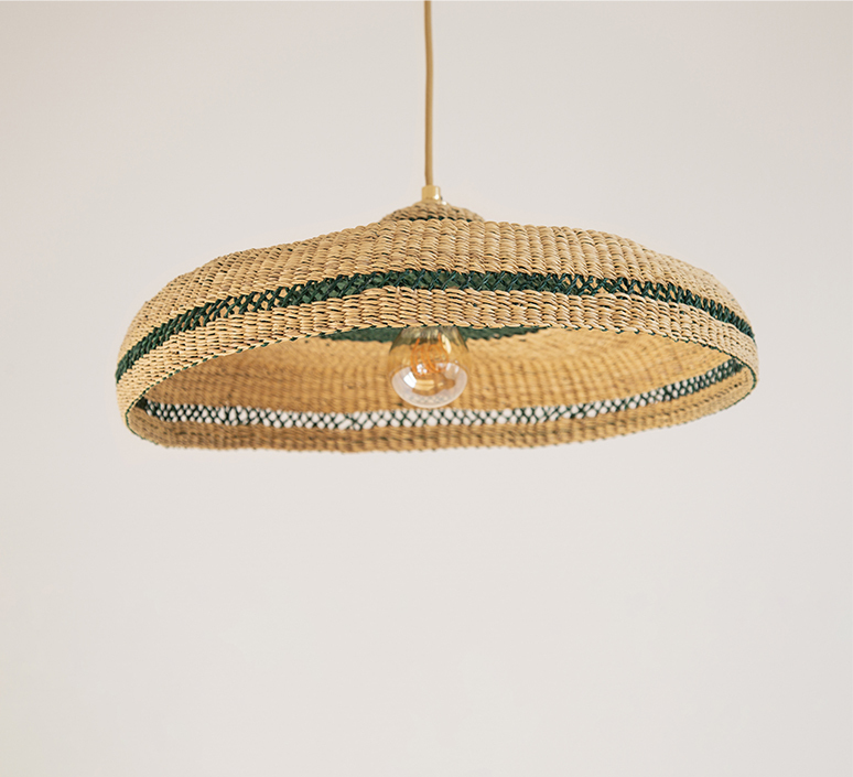 Hatter sara efia reddin suspension pendant light  golden editions hatter natural herb  design signed nedgis 103903 product