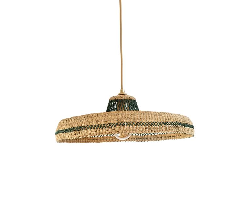 Hatter sara efia reddin suspension pendant light  golden editions hatter natural herb  design signed nedgis 103904 product