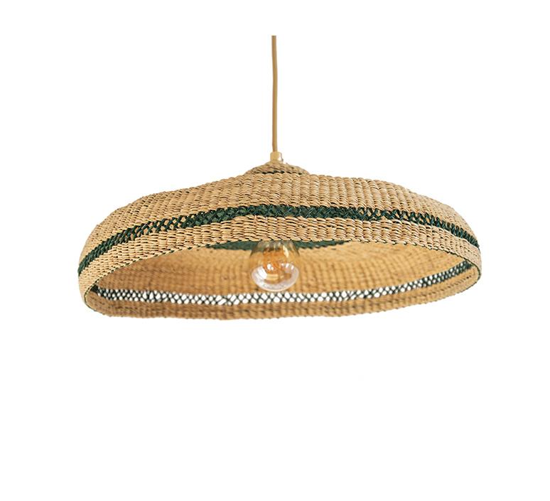 Hatter sara efia reddin suspension pendant light  golden editions hatter natural herb  design signed nedgis 103905 product