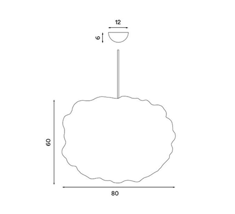 Heat small johanna foresberg suspension pendant light  northern 484  design signed nedgis 117936 product