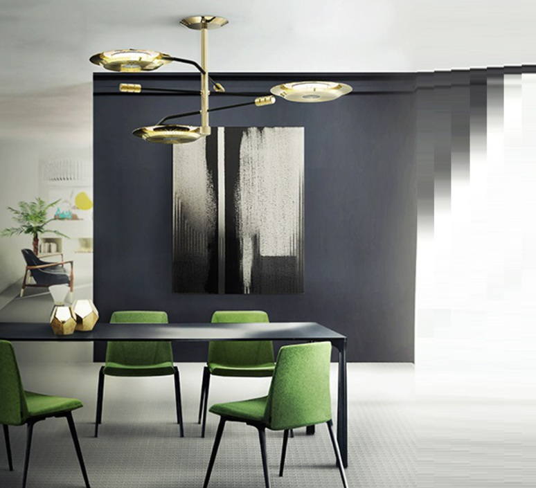 Botti studio delightfull delightfull suspension botti 90 gold luminaire lighting design signed 29854 product