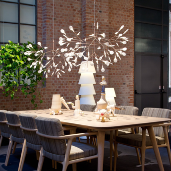 Suspension heracleum ii cuivre led o98cm h65cm moooi normal