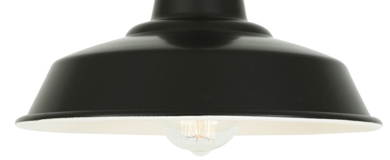 Suspension hex noir o30cm h23cm mullan lighting normal