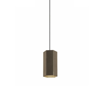 Suspension hexo 2 0 par16 bronze h20cm wever ducre normal