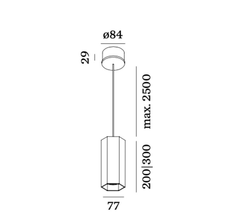 Hexo 2 0 par16 studio wever ducre suspension pendant light  wever et ducre 207320b0  design signed nedgis 78696 product