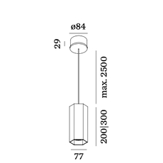 Hexo 2 0 par16 studio wever ducre suspension pendant light  wever et ducre 207320b0  design signed nedgis 78696 thumb
