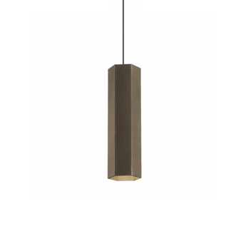 Suspension hexo 3 0 par16 bronze h30cm wever ducre normal