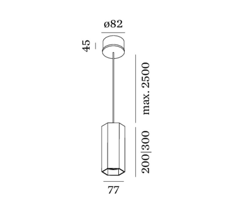 Suspension Hexo 3 0 Par16 Cuivre H30cm Wever Ducr Luminaires Nedgis