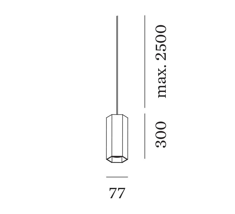 Hexo 3 0 par16 studio wever ducre suspension pendant light  wever et ducre 215220b0 90052021  design signed nedgis 127221 product