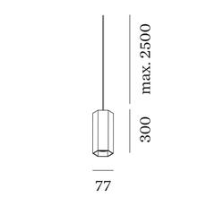 Hexo 3 0 par16 studio wever ducre suspension pendant light  wever et ducre 215220b0 90052021  design signed nedgis 127221 thumb