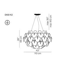 Hope d66 42 francisco gomez paz suspension pendant light  luceplan 1d6642s00000  design signed 55141 thumb