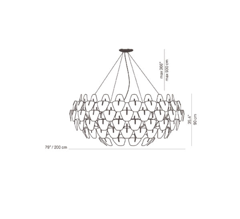 Hope francisco gomez paz suspension pendant light  luceplan 1d66105s0000  design signed nedgis 78452 product
