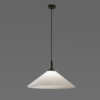 Suspension hue blanc h30cm faro normal