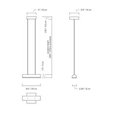 Hutchison 01 studio lambert fils suspension pendant light  lambert fils hut01bgwhwhwlph  design signed nedgis 121479 thumb