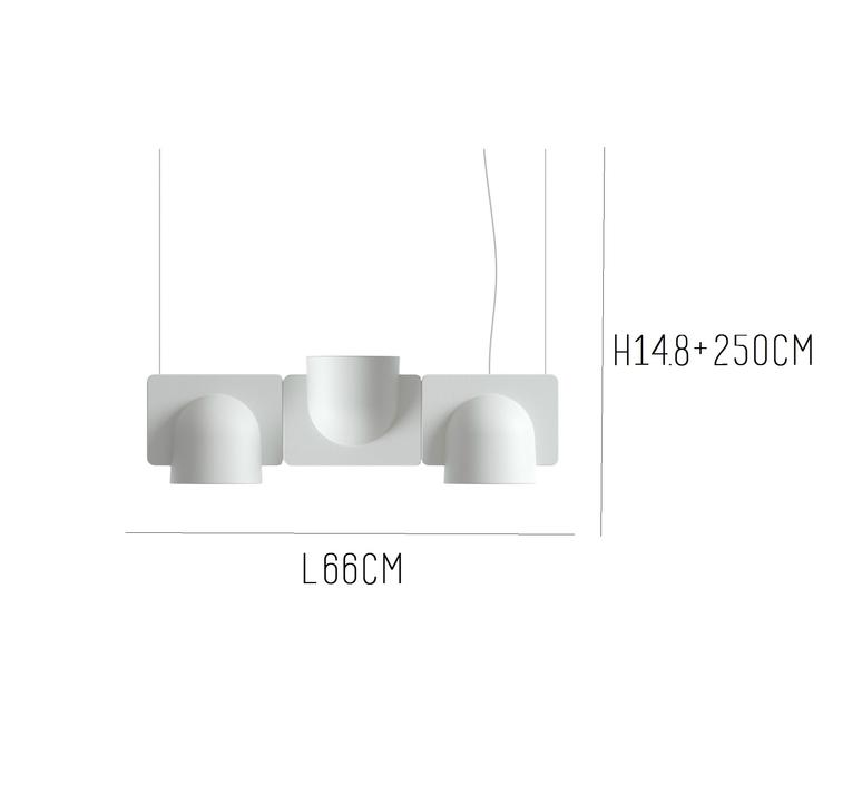 Igloo 3 studio klass fontanaarte 4268gcled3downup luminaire lighting design signed 28672 product