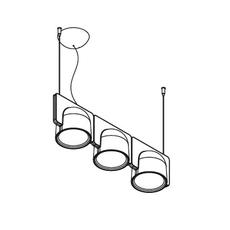 Igloo 3 studio klass fontanaarte 4268gcled3down luminaire lighting design signed 28665 thumb