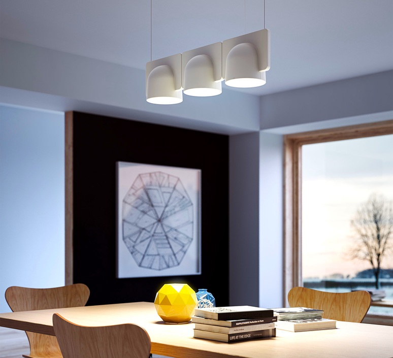 Igloo 3 studio klass fontanaarte 4268gcled3down luminaire lighting design signed 28956 product