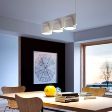 Igloo 3 studio klass fontanaarte 4268gcled3down luminaire lighting design signed 28956 thumb