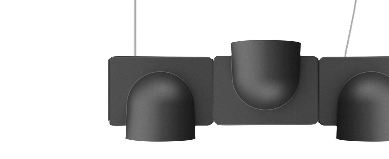 Suspension igloo 3 gris fonce o66cm fontana arte abf63286 77e6 404d 9782 ea9f9851f78b normal