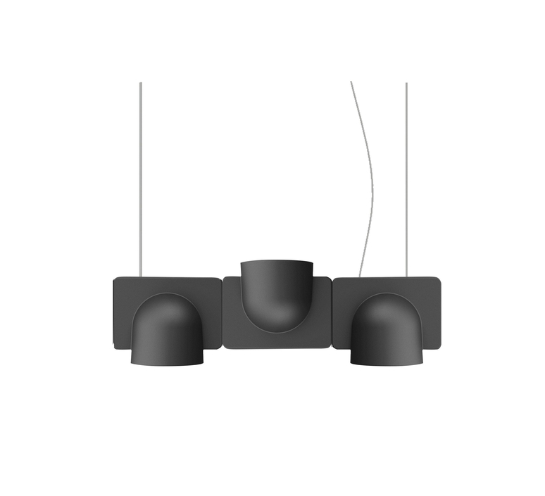 Igloo 3 studio klass fontanaarte 4268gsled3downup luminaire lighting design signed 28666 product