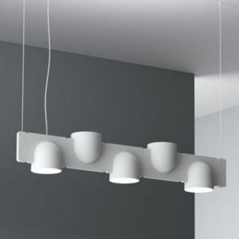Suspension igloo system module gris clair h18cm fontana arte normal