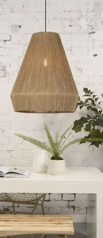 Suspension iguazu  l naturel o50cm h60cm it s about romi normal