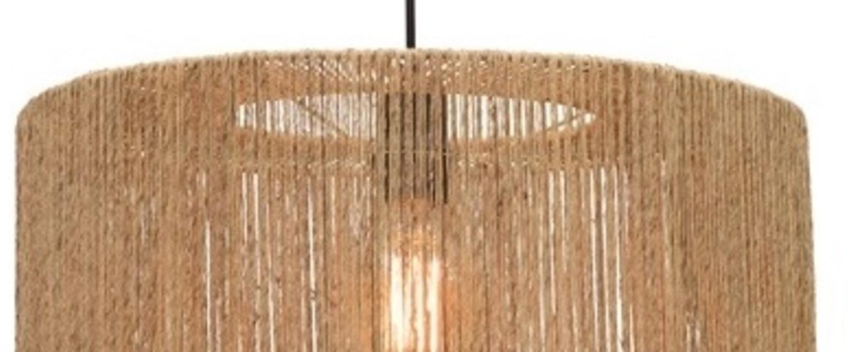 Suspension iguazu l naturel o60cm h25cm good mojo normal