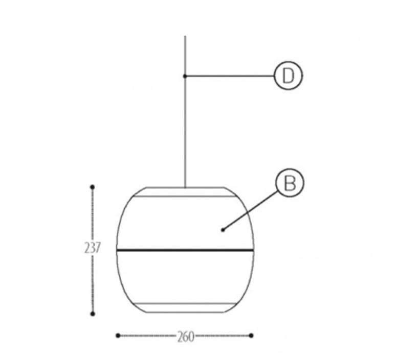 Ij lamp metal s jacob de baan suspension pendant light  dark 815 110 042 01  design signed nedgis 68711 product