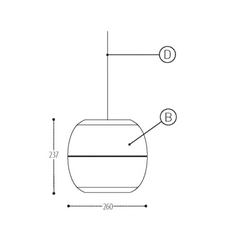 Ij lamp metal s jacob de baan suspension pendant light  dark 815 110 042 01  design signed nedgis 68711 thumb