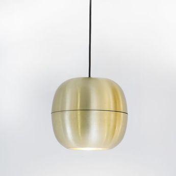 Suspension ij lamp metal s laiton o23 7cm h26cm dark normal