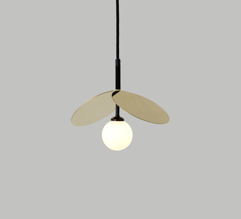Ilios cable tissu  suspension pendant light  atelier areti ilios pendant black white fabriccable  design signed nedgis 68133 product