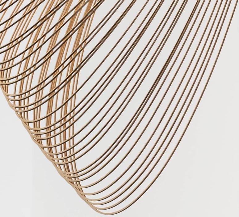 Illan 100 dimmable dali zsuzsanna horvath suspension pendant light  luceplan d82s3d  design signed nedgis 77244 product