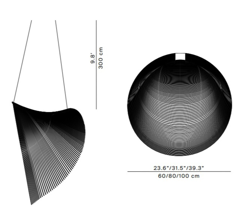 Illan 100 dimmable dali zsuzsanna horvath suspension pendant light  luceplan d82s3d  design signed nedgis 77257 product