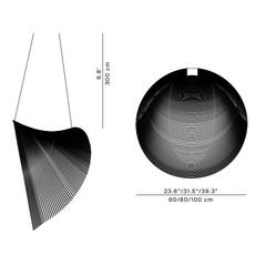 Illan 80 dimmable coupure de phase zsuzsanna horvath suspension pendant light  luceplan d82s2  design signed nedgis 77268 thumb