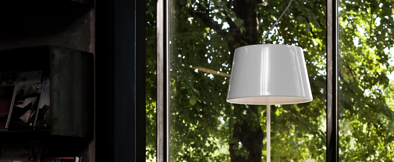 Suspension illusion blanc h72cm l45 5cm northern lighting normal