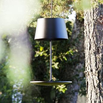 Suspension illusion noir h72cm l45 5cm northern lighting normal