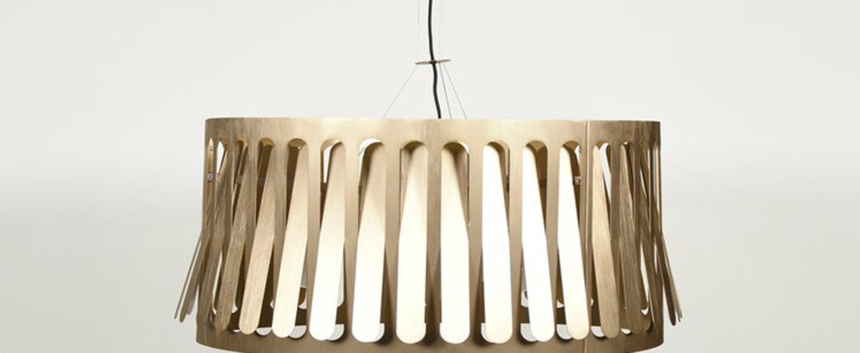 Suspension inclinaison domestique l laiton o80cm h40cm eno studio normal